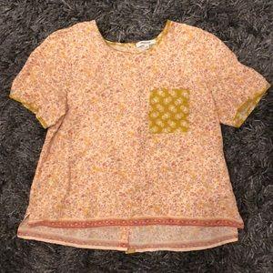 madewell short sleeve top